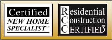 Certified New Home Specialist RCC